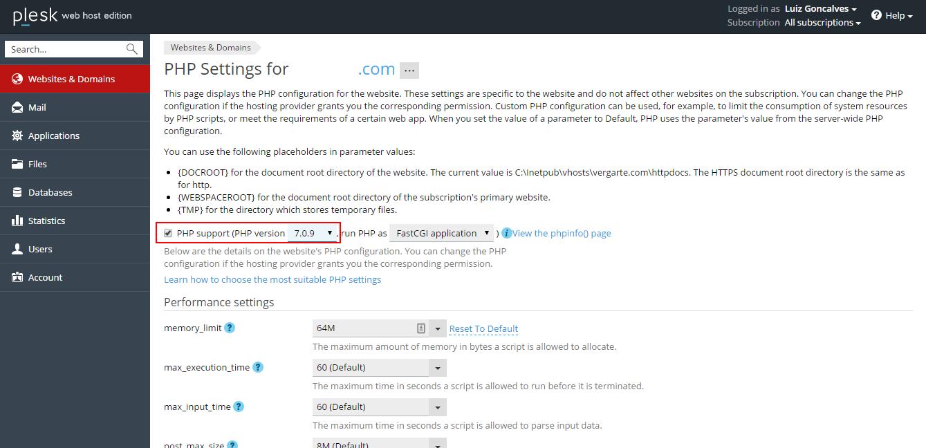 Quais as principais vantagens do PHP 7 windows2