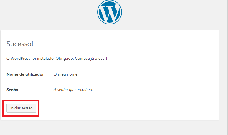 wordpress localhost lusoaloja blog