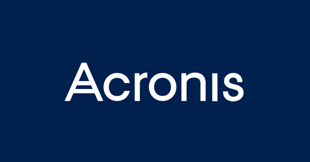 Acronis Lusoaloja Backup
