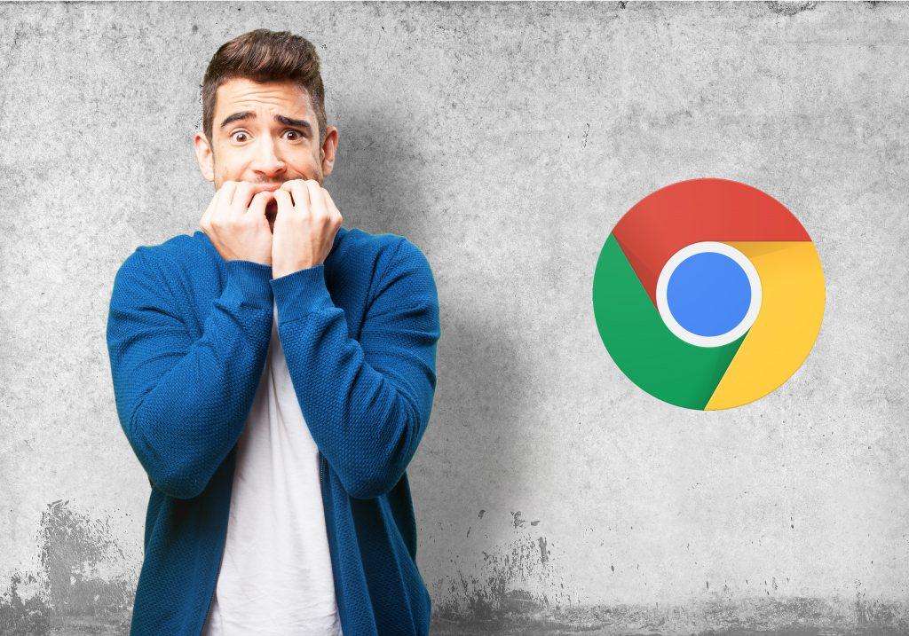 Chrome 79 cuidado versão Chrome LusoAloja